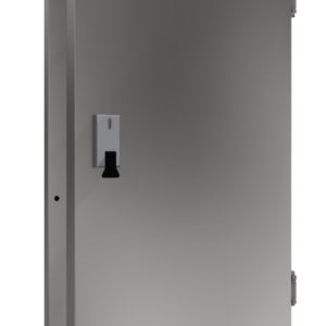 Drzwi chłodnicze jednoskrzydłowe nierdzewne